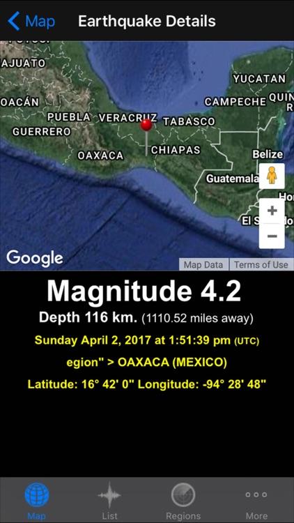 QuakeZones Pro - Earthquakes