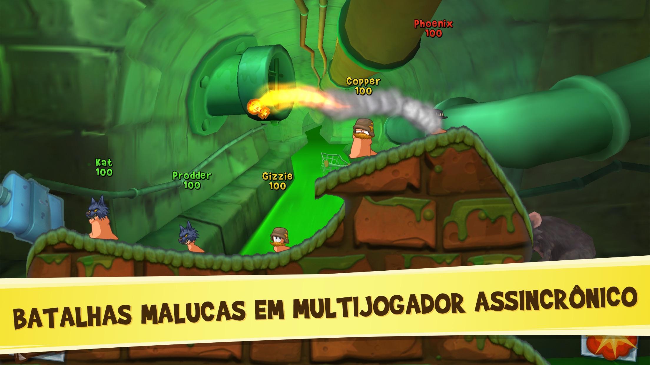 Screenshot do app Worms3
