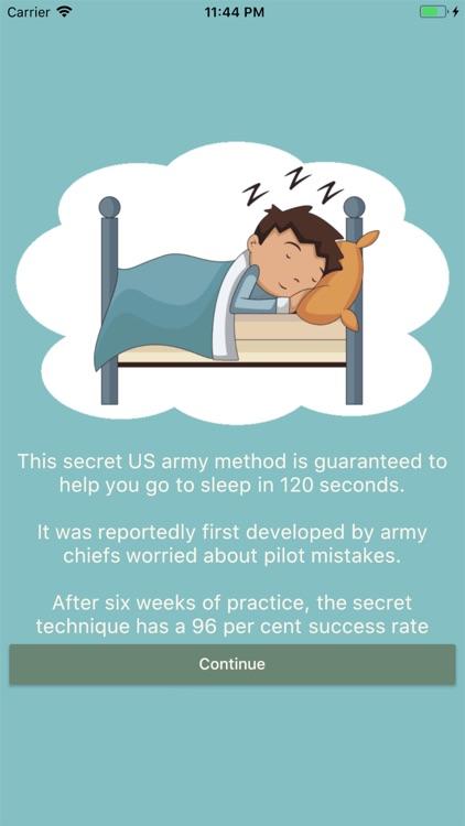 Military Insomnia Technique
