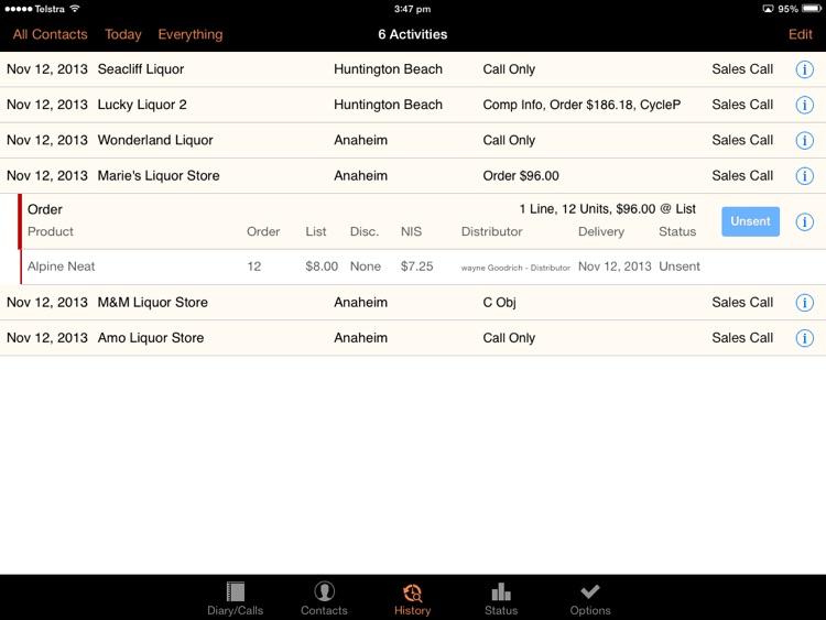 Field Sales 8 screenshot-3