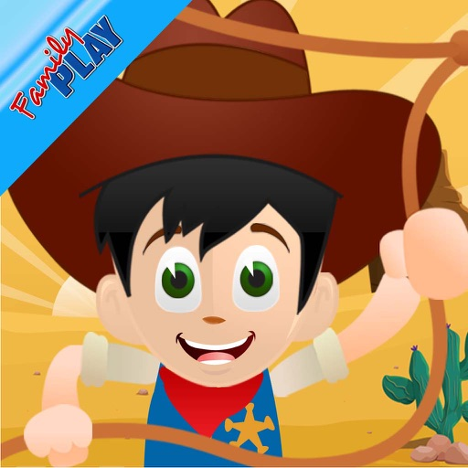 Cowboy Toddler: Educational Games iOS App