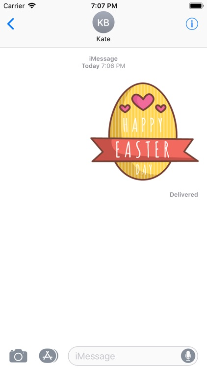Easter Day Stickers 2018 screenshot-4