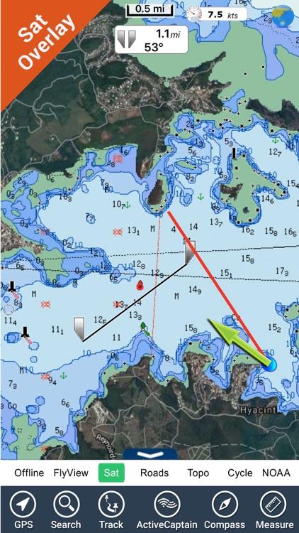 Martinique HD  maps GPS charts