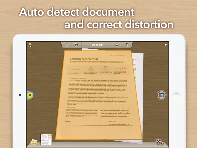 Doc Scan HD - Fax PDF Scanner