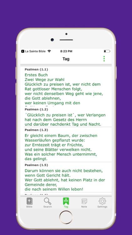 New German  Bible screenshot-3