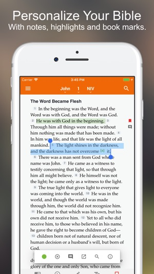 Bible +1 on the App Store