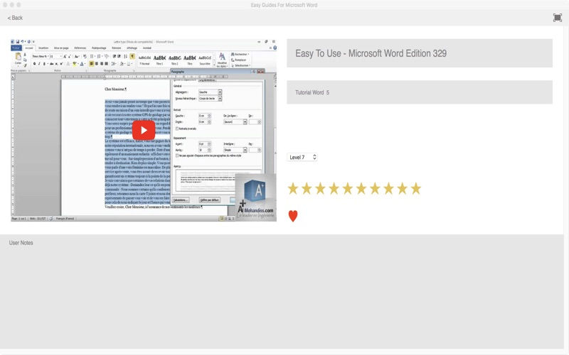 Easy To Use Guides For Microsoft Word for Mac
