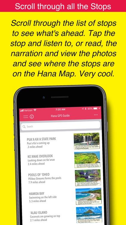 Hana GPS Guide screenshot-5