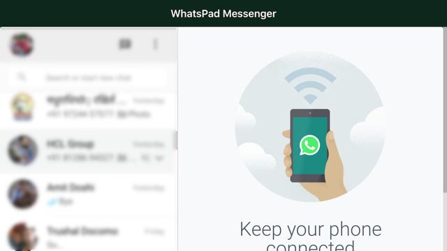 Messenger for WhatsApp WebApp Screenshot