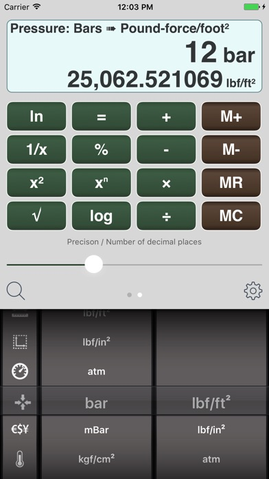 Measures - Unit Converter screenshot two