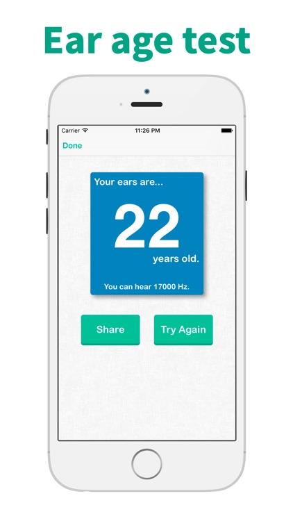 Hearing Test & Ear Age Test screenshot-3