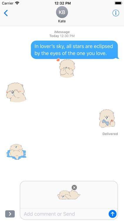 Cute Polar Bear - Fx Sticker screenshot-4