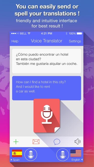 Voice Translate : translator screenshot four