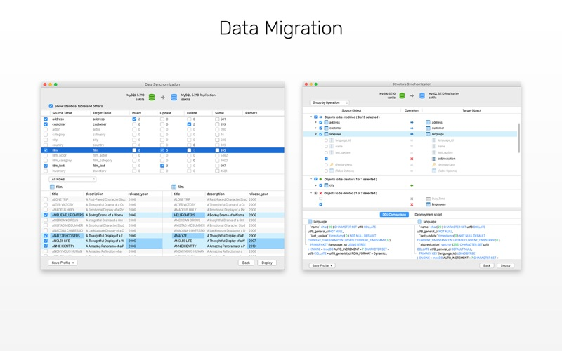 Navicat 12 for MySQL Screenshots