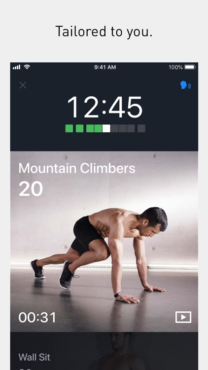Runtastic Results Bodyweight