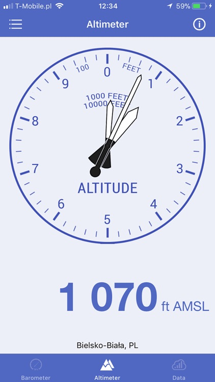 Barometer & Altimeter & Thermo