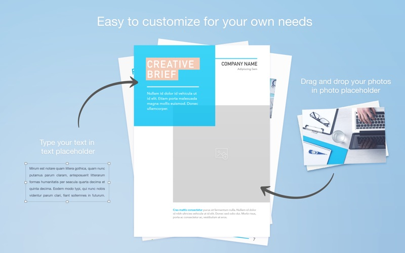 Screenshot #3 for Print Lab: Templates for Pages