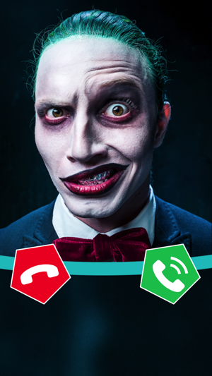 scary joker it calling you on the app store