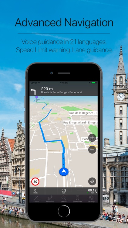 Belgium Offline NAvigation screenshot-3