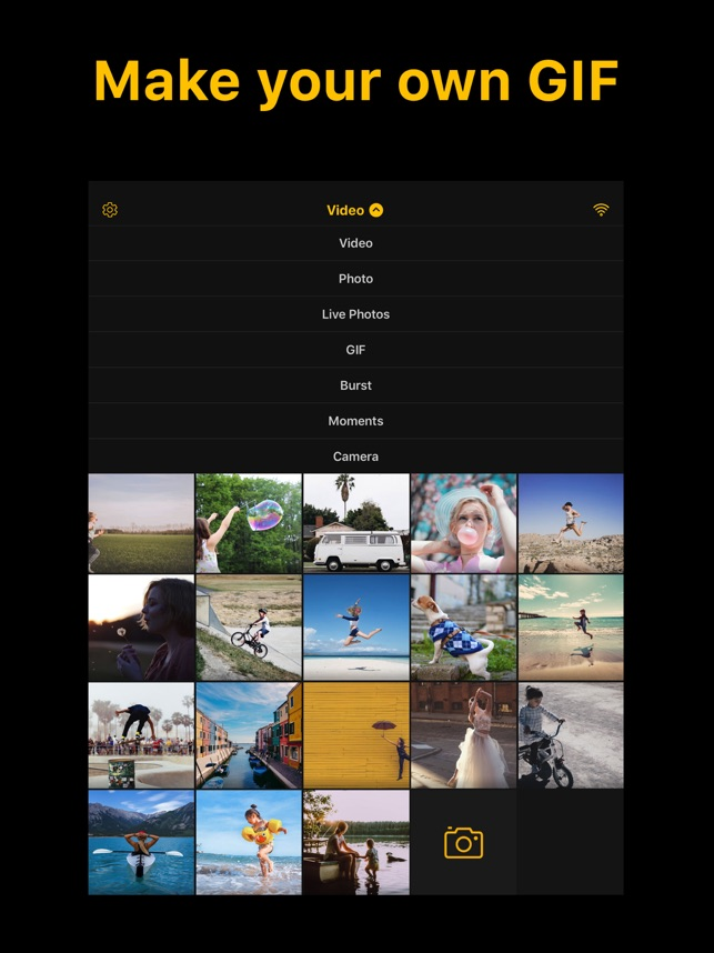 Imgplay Gif Maker On The App Store