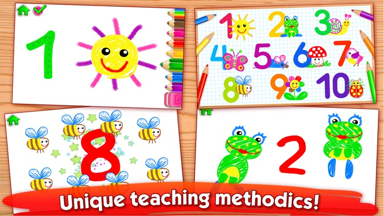123 Draw Kids to Learn Numbers
