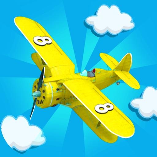 Cоединять самолеты игра