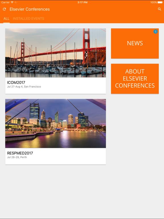 Elsevier Conferences App screenshot 7