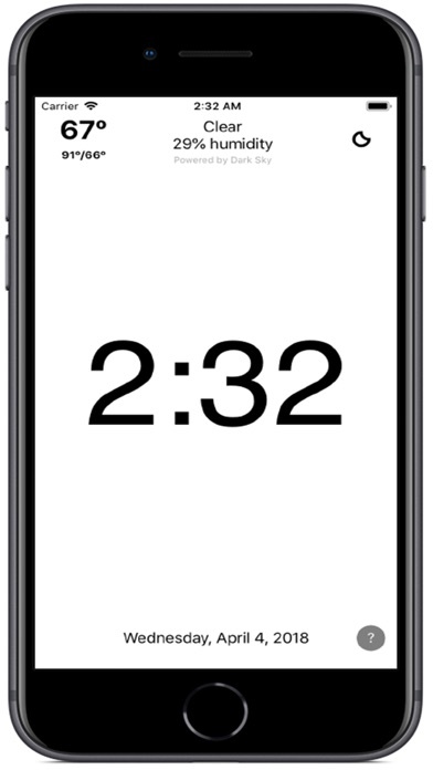 Clock Simplicity Screenshot 2