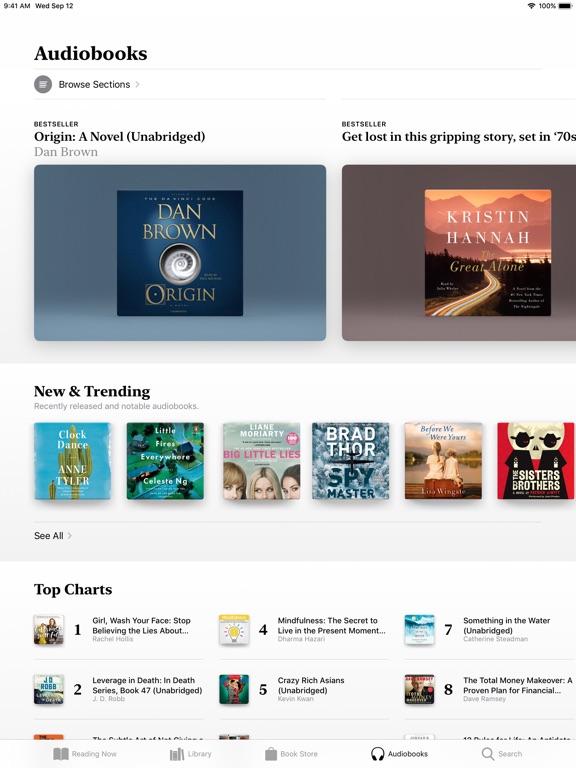 Apple Books iPad