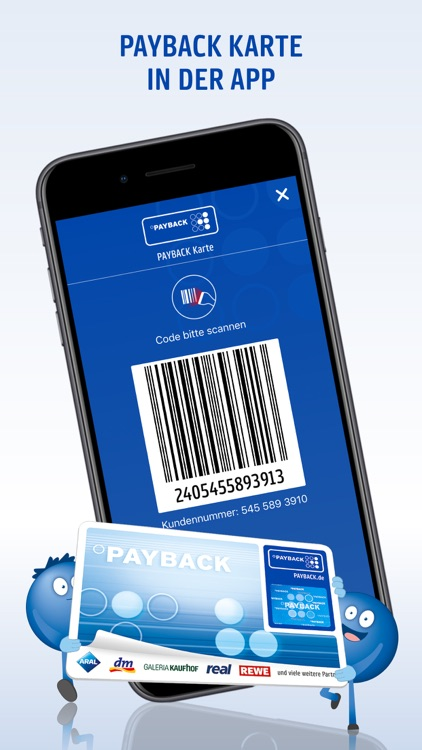 PAYBACK - Karte, Coupons, Geld