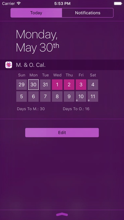 Menstrual Period Tracker Pro screenshot-4