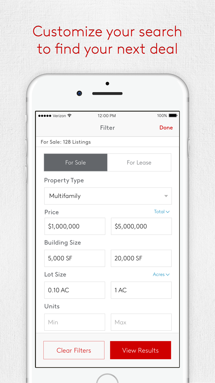 LoopNet Commercial Real Estate Screenshot