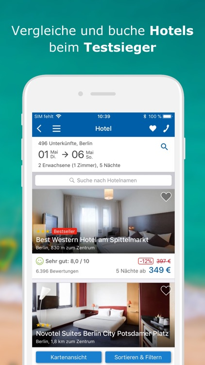 CHECK24 Reisen screenshot-3