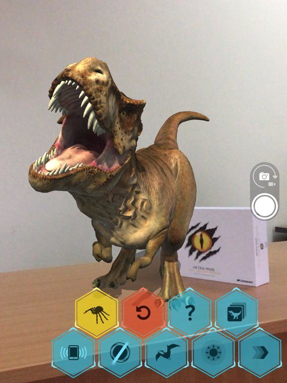 AR Dino World screenshot 2