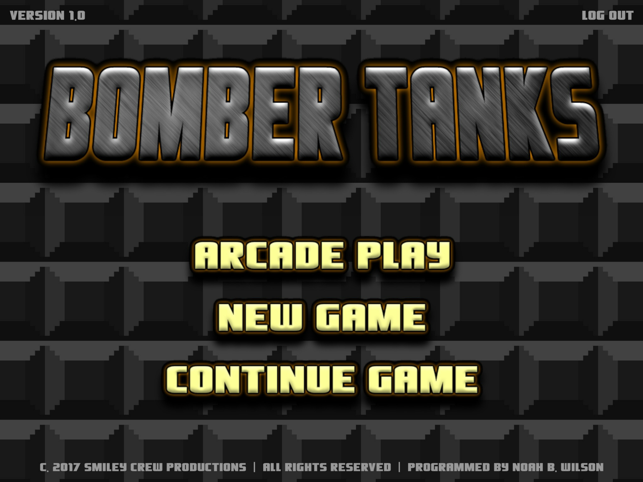 Bomber Tanks, game for IOS