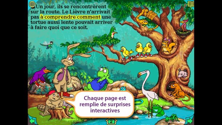 FR-Le Lièvre et la Tortue screenshot-4