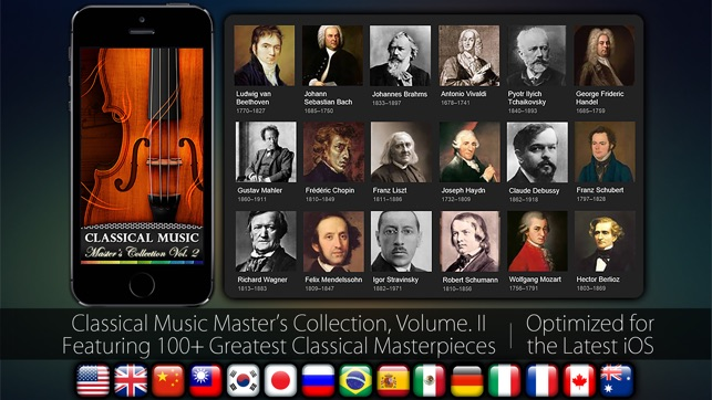 Classical Music Masters Vol  2 on the App Store