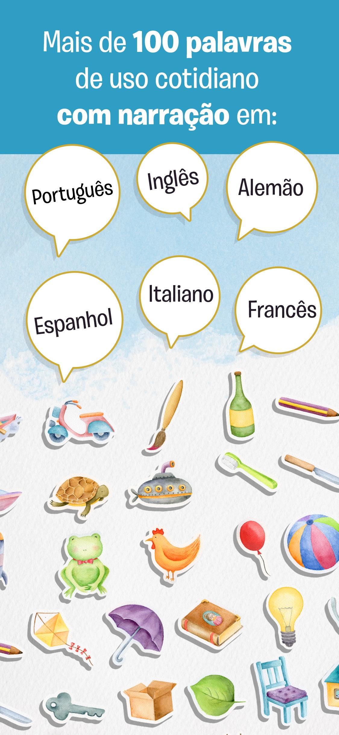Screenshot do app O Nome das Coisas