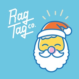 Rag Tag Christmassy Stickers