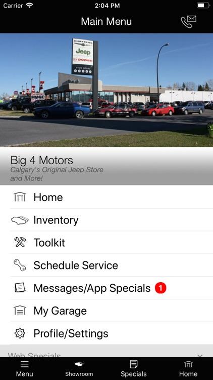 Big 4 Motors MLink screenshot-3