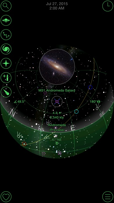 GoSkyWatch Planetarium - the astronomy star guide Screenshot 3
