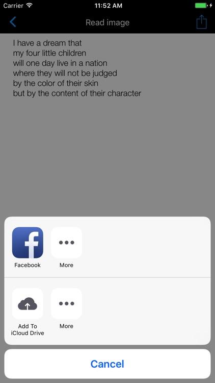 Scanner, Barcode & Text Reader screenshot-3