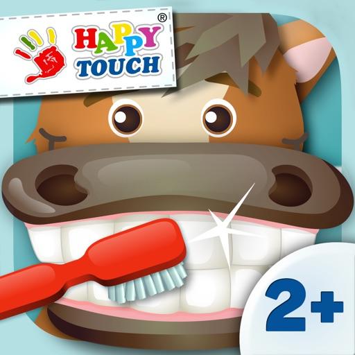 Alles sauber? Zähne Putzen.