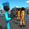 Stickman Police Bus Driver Pro