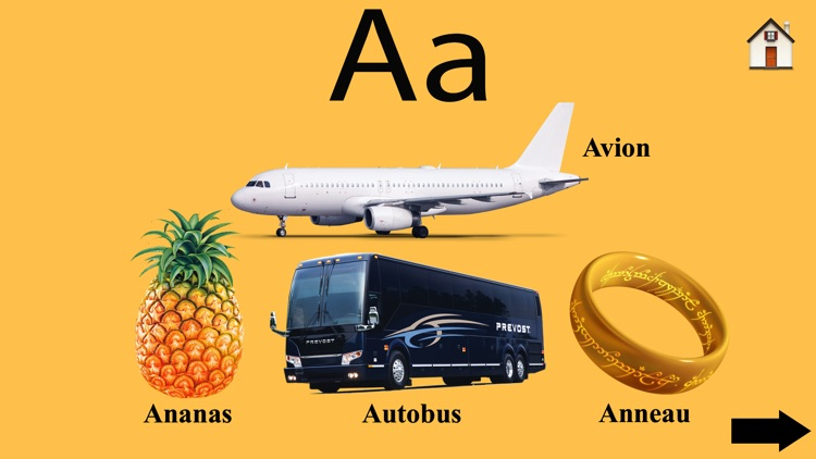 Learn French ABC Alphabets fun