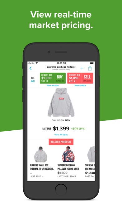 Screenshot for StockX - Buy & Sell Authentic in United States App Store