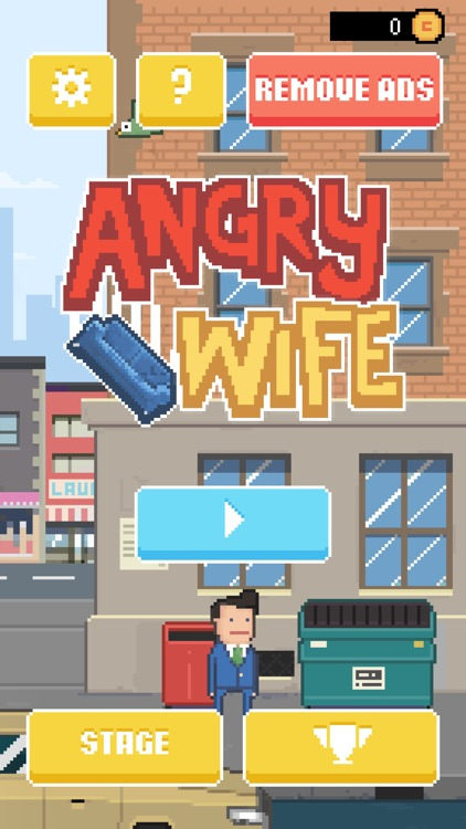 Angry Wife Game screenshot-0