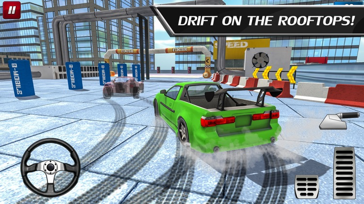 Car Drift Duels: Roof Racing screenshot-1