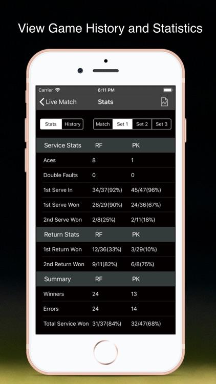 TennisKeeper - Tennis Tracker screenshot-3