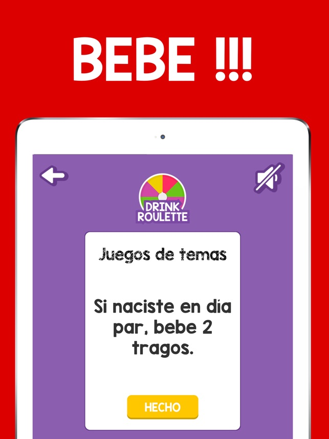 Drink Roulette Juego De Beber En App Store